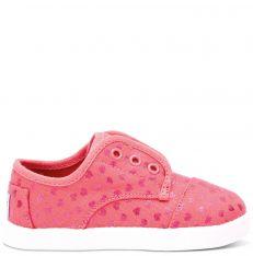 e182dc607564e Toms ružové detské topánky Paseo Pink Canvas Hearts